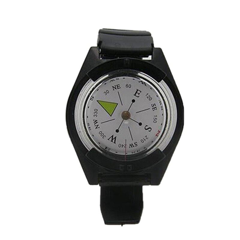 Прочные часы наручные Компас Пеший Туризм Отдых Путешествия цифровой выживания часы Военная Отдых Открытый браслет выживания часы