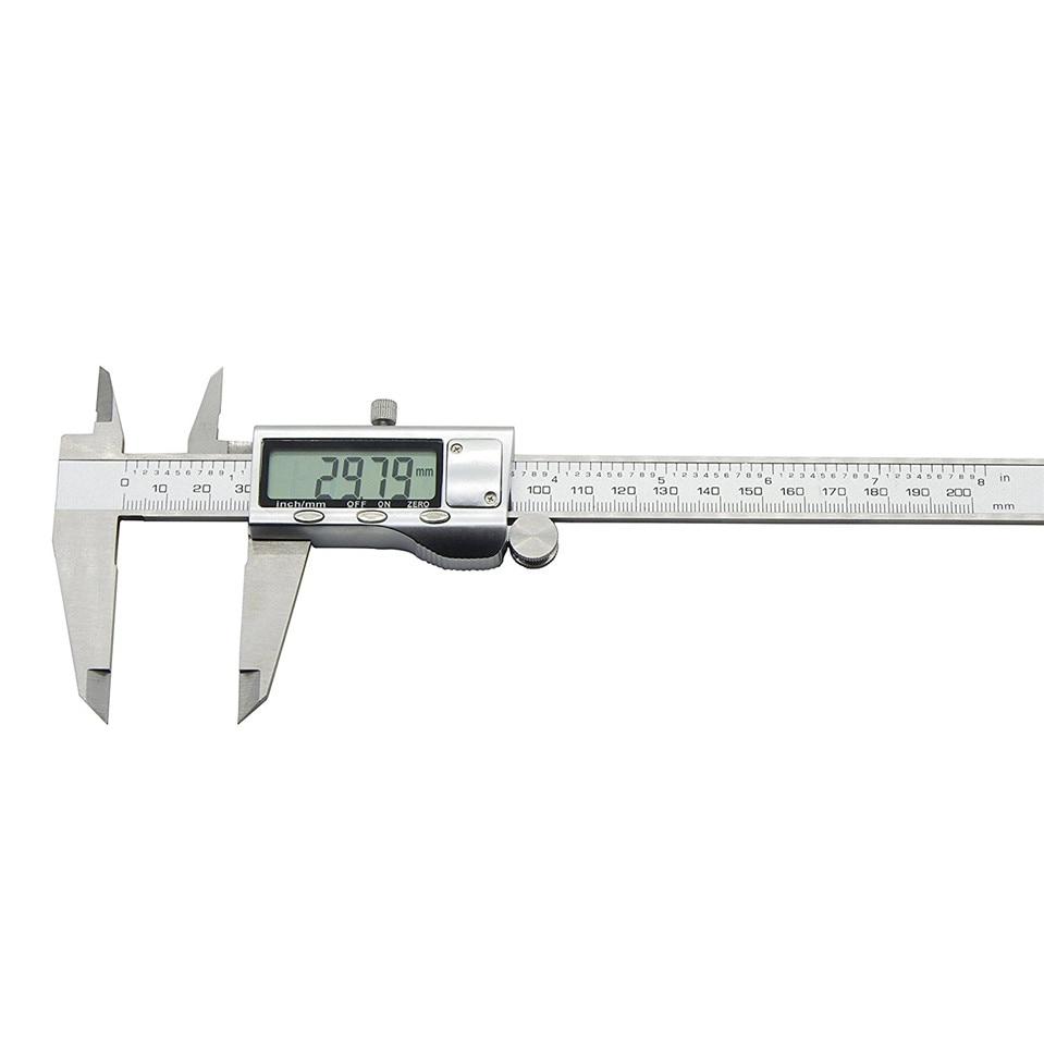 high quality 200 mother stainless steel electronic digital vernier font b caliper b font micrometer QST