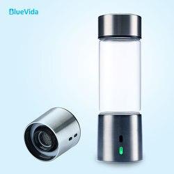 BlueVida puro 3000ppb generador de agua rico en hidrógeno con tecnología de cámara Dual SPE & PEM (diseño de acero inoxidable 304)