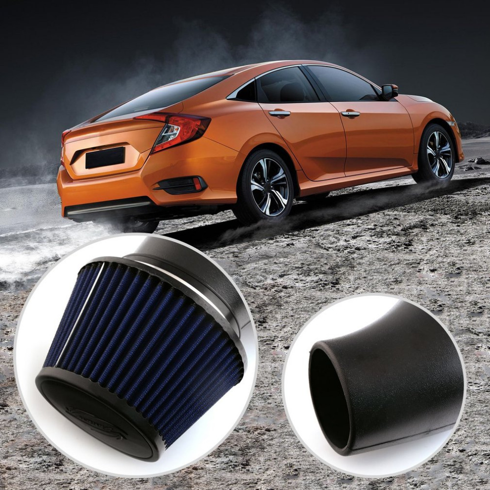 Professional 6 Auto Car Air Intake Pipe Induction Filter Kit Large Flow For Honda Civic 92 00 EK EG PQY AIT11CF Hot In Manifold From