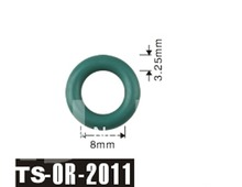 PAM free shipping 200pcs fuel injector o ring kit For Injector TS 2011 size mm