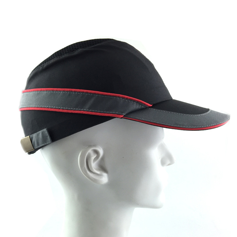 High Quality Safety Helmet Bump Cap Summer Breathable Security Anti-impact Lightweight Helmets Casual Sunscreen Protective Hat bump cap work safety helmet with reflective stripe summer breathable security anti impact light weight helmets protective hat