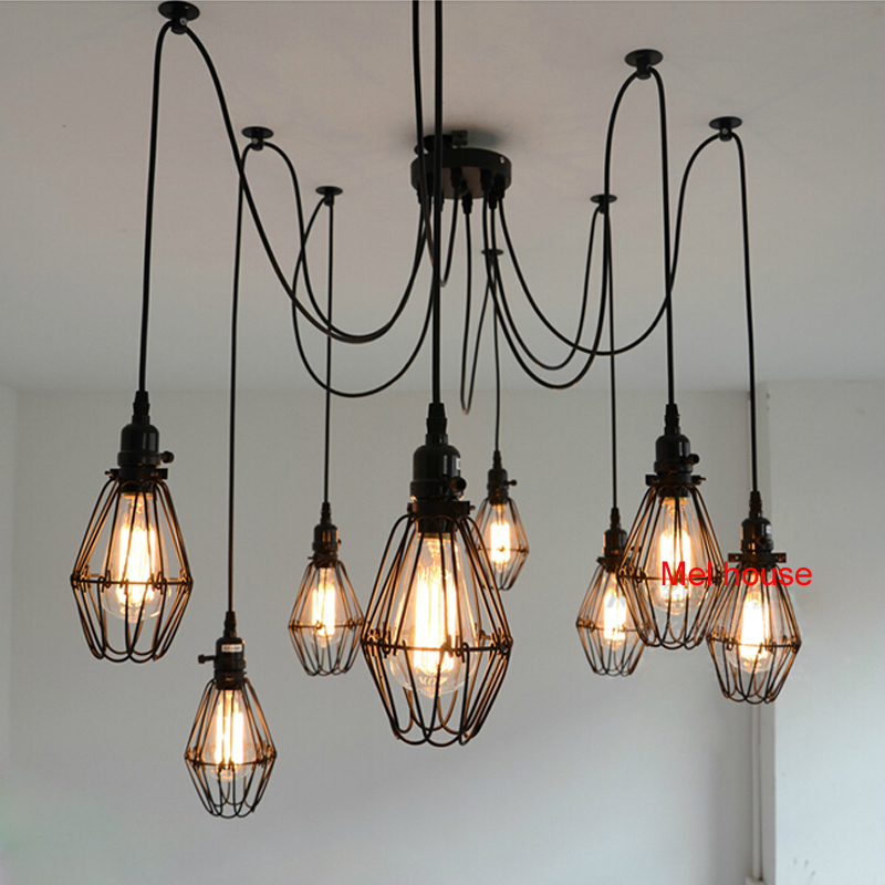 Vintage industrial ceiling lamp edison light modern creative ceiling vintage industrial ceiling lamp edison light modern creative ceiling lights pulley retro flush mount ceiling light edison bulb in ceiling lights from lights mozeypictures Images