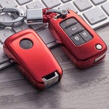 Kaplama yumuşak TPU anahtar tutucu kapak kılıf için Chevrolet Cruze Aveo Trax Opel Astra Corsa Meriva Zafira Antara J mokka Buick için