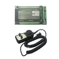 Ethernet Mach3 Card 4 Axis manual pulse hand wheel for CNC Router Machine manual pulse hand wheel Mach3 CNC Motion Control Card