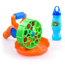 1pcs 15*24cm Electric Soap Bubble Gun Automatic Bubble Water blowing machine kids holiday water gun #5 battery power d10