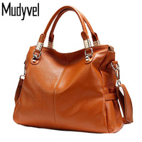 Real Cow Leather Luxury Handbags Women Bags Designer High Capacity Soft Genuine Leather Bag Stylish And