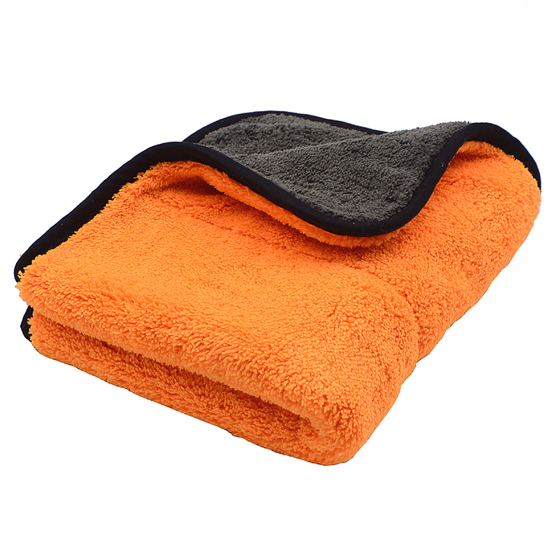 800GSM 45cmx38cm Super Thick Plush Microfiber Car Cleaning Cloths Car Care Microfibre Wax Polishing Detailing Towels Soft