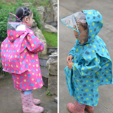 80-145CM waterproof raincoat for children kids baby rain coat poncho boys girls primary school students jacket