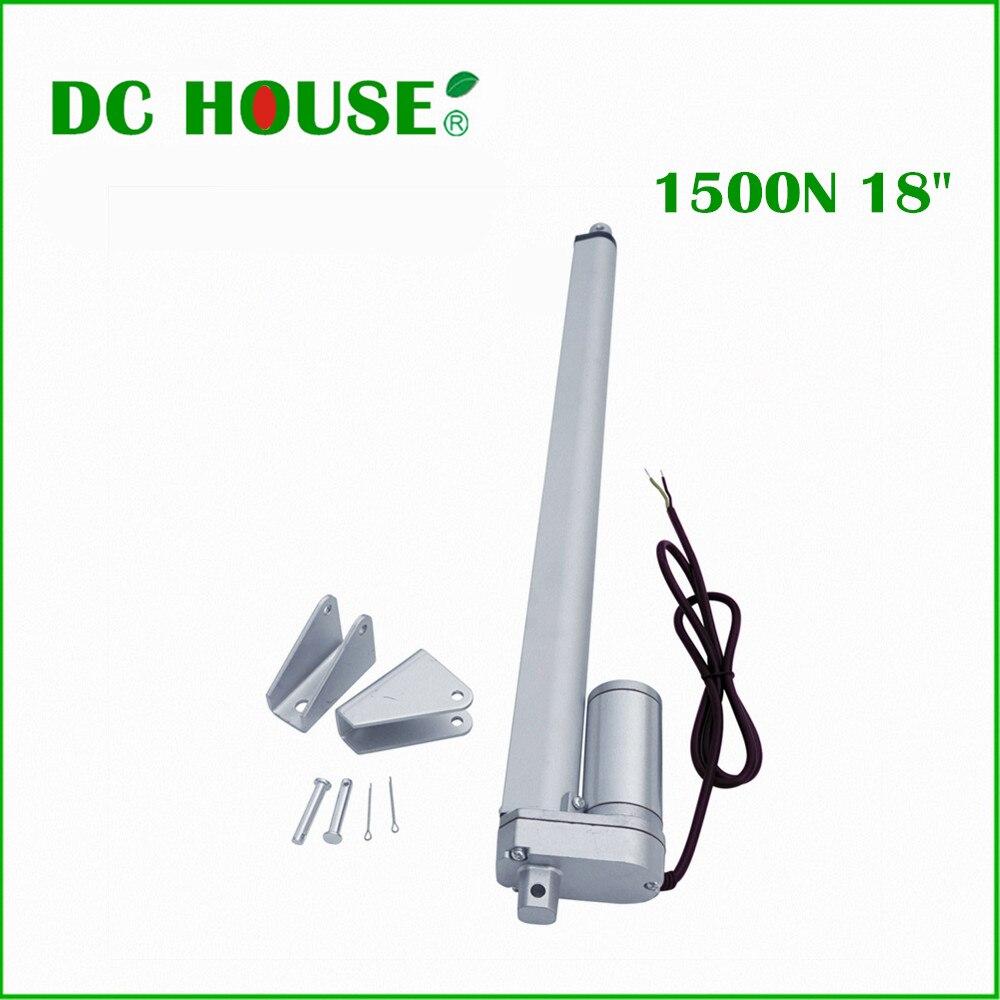 Attuatore lineare 340lbs 12 V DC per inseguitore di inseguimento solare 100 W pannello solare