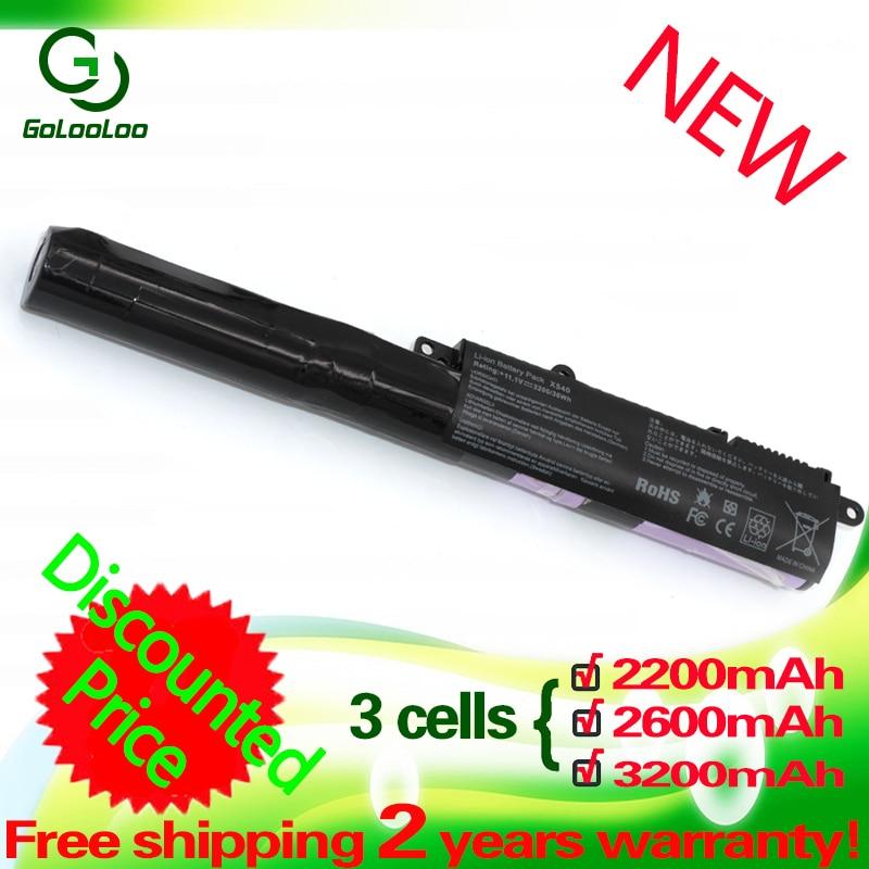 Golooloo A31N1519 Battery For Asus A540L R540SA A540LA R540UP F540LA X540L F540SA X540LA F540SC X540LJ F540UP7200 X540S R540L