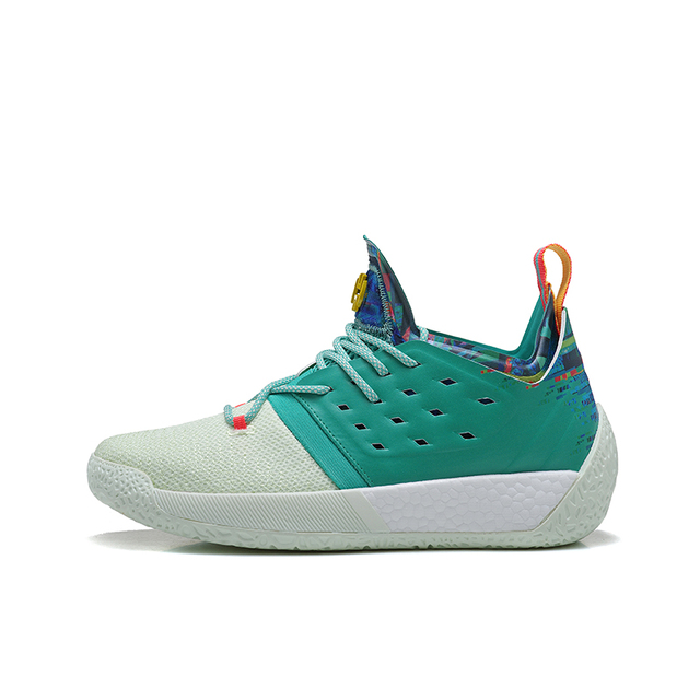 e19b8a0b88cc Mahadeng Basketball Shoes boost Harden Vol.2 B28106 Vision Sports sneakers  green white Size 40-46