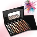 Trendy 88 Warm Color Eye Shadow Palette Eyeshadow Makeup Palette Kit Set Drop Shipping