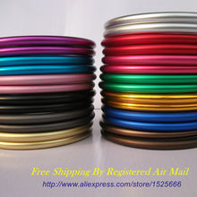 Free Shipping 40pcs/20pairs 3″ Large Size Safe and Tested Aluminium Sling Rings Making Your Baby Carry Sling