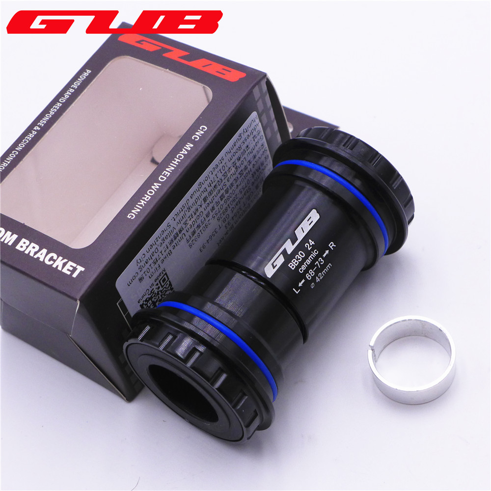 GUB PF30 BB30 Ceramic Bearing Bottom Bracket 30 to 24/22mm For SHIMANO Sram Crankset GXP MTB Road Bike BB