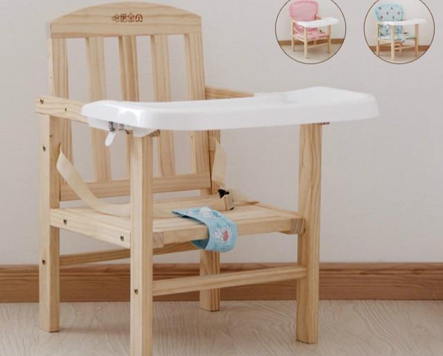 2016 Новый Дизайн Детские Обеденный Стул Деревянный Многофункциональный Прочный Портативный Ребенка Стул Еда