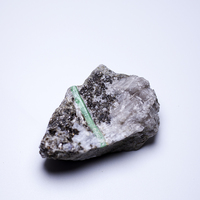 200g NATURAL Emerald quartz crystal stone ore Mineral samples collection ZML8