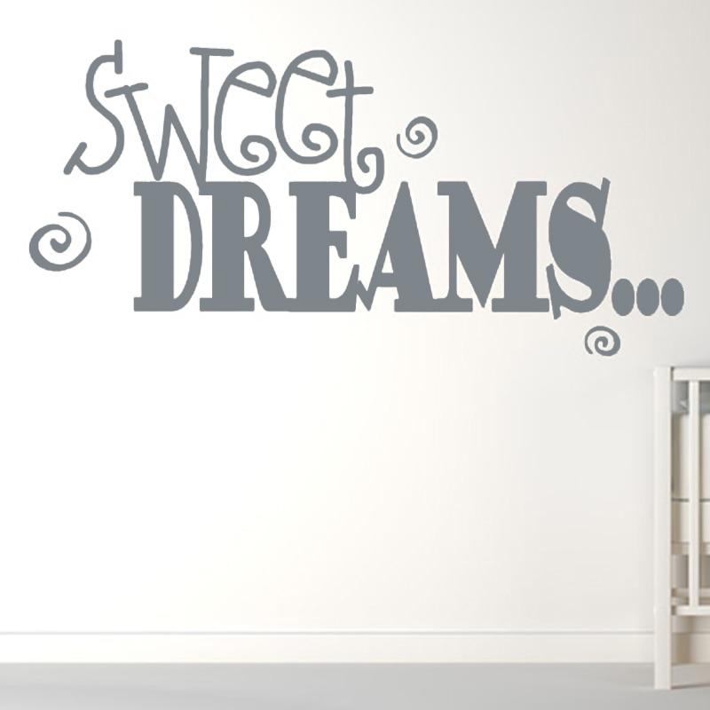 Merveilleux DCTOP Sweet Dreams Wall Sticker Baby Bedroom Art Vinyl Removable Newest  Desig.