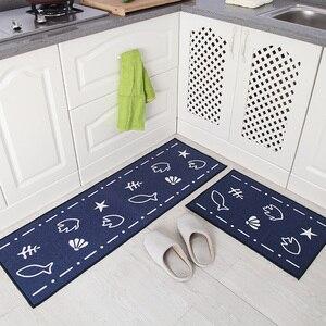 Image 3 - [Byetee] кухонный коврик, длинный водопоглощающий нескользящий коврик, дверной коврик, маслостойкий коврик для ног, подушка для ванной, коврик для спальни и кровати