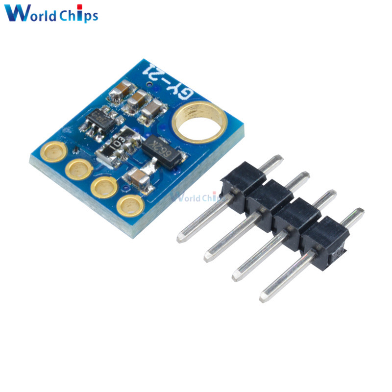 Integrated Circuits Electronic Components & Supplies Si7021 Gy-21 Module Industrial Humidity Sensor I2c Iic Interface Module For Arduino Low Power Cmos Ic Module High Precision We Have Won Praise From Customers