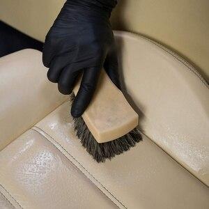 Image 5 - 20Pcs/Set New Rubber Disposable Mechanic Nitrile Gloves Universal Powder Free Comfortable Black Glove for Auto Detail Car Clean