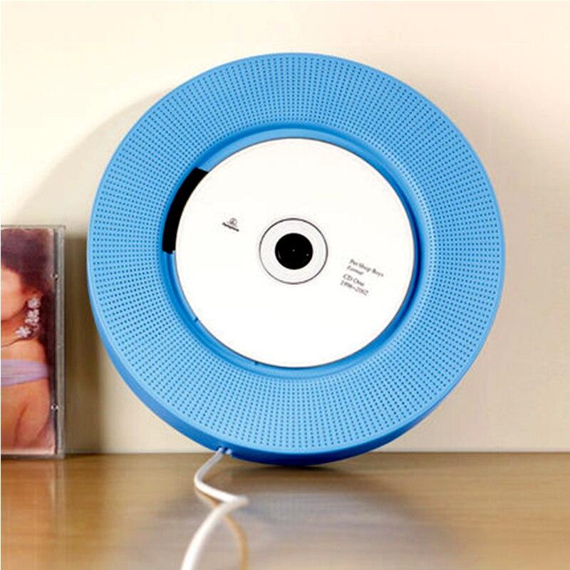 Настенный Bluetooth CD плеер портативный динамик выдвижной переключатель с дистанционным динамиком fm радио USB привод CD DVD VCD WMA AVI плеер - 2