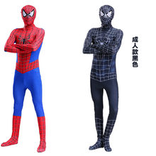 black suit the amazing iron spider man homecoming costume Spiderman cosplay halloween costumes for men adult costumes clothing(China)