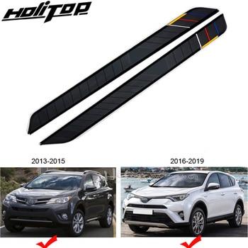 Hottest nerf ด้านข้างด้านข้างเหยียบเท้าขั้นตอนสำหรับ Toyota RAV4 2013-2019, หรูหรารุ่น light,verified by ตลาดจีน,