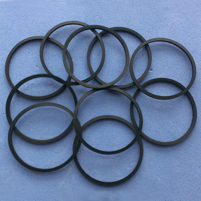 """20 יחידות חגורות מכונה קלטת נגן DVD CD חגורת נהג 25 מ""""מ 30 מ""""מ 35 מ""""מ 38 מ""""מ 40 מ""""מ 45 מ""""מ מעורב אריזה"""