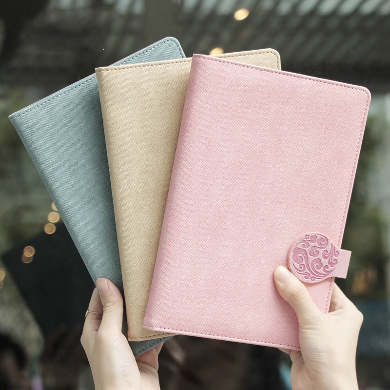 Business notebook office creative stationery retro leather work notebook female diary simple book meeting record a5 notebookBusiness notebook office creative stationery retro leather work notebook female diary simple book meeting record a5 notebook