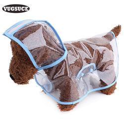 Vugsuce transparent waterproof dog raincoat clothes for small dogs chihuahua pet dog clothes hooded for puppy.jpg 250x250