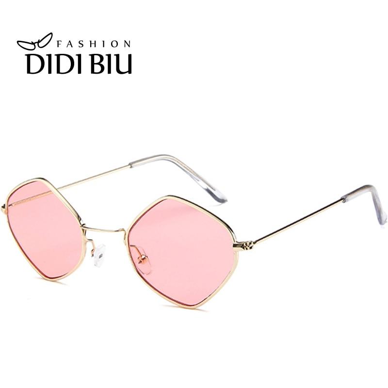 DIDI Rhombus Triangle Kleine Sonnenbrille Frauen Männer Transparent - Bekleidungszubehör - Foto 2