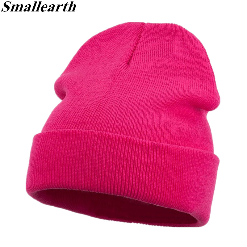 2018 Fashion Winter Hat Children Cap   Skullies     Beanies   Unisex Warm Hats Boy Girl Knitted Hats for Women Men   Beanies   Warm Soft Cap