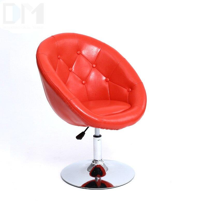 Quality Ergonomic Short Lifting Swivel Bar Chair Rotating Adjustable Height Pub Bar Stool Chair High Density Sponge Cadeira