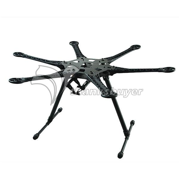 HMF S550 F550 Upgrade Version High Quality Hexacopter Frame Kit with Landing Gear PCB Board