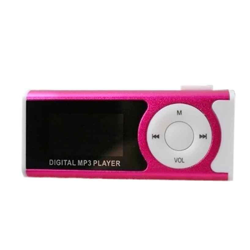 Mp3-плеер Поддержка 16 Гб Micro SD TF карта USB Клип Мини светодиодный портативный ЖК Jun30 Профессиональный завод Цена Прямая доставка