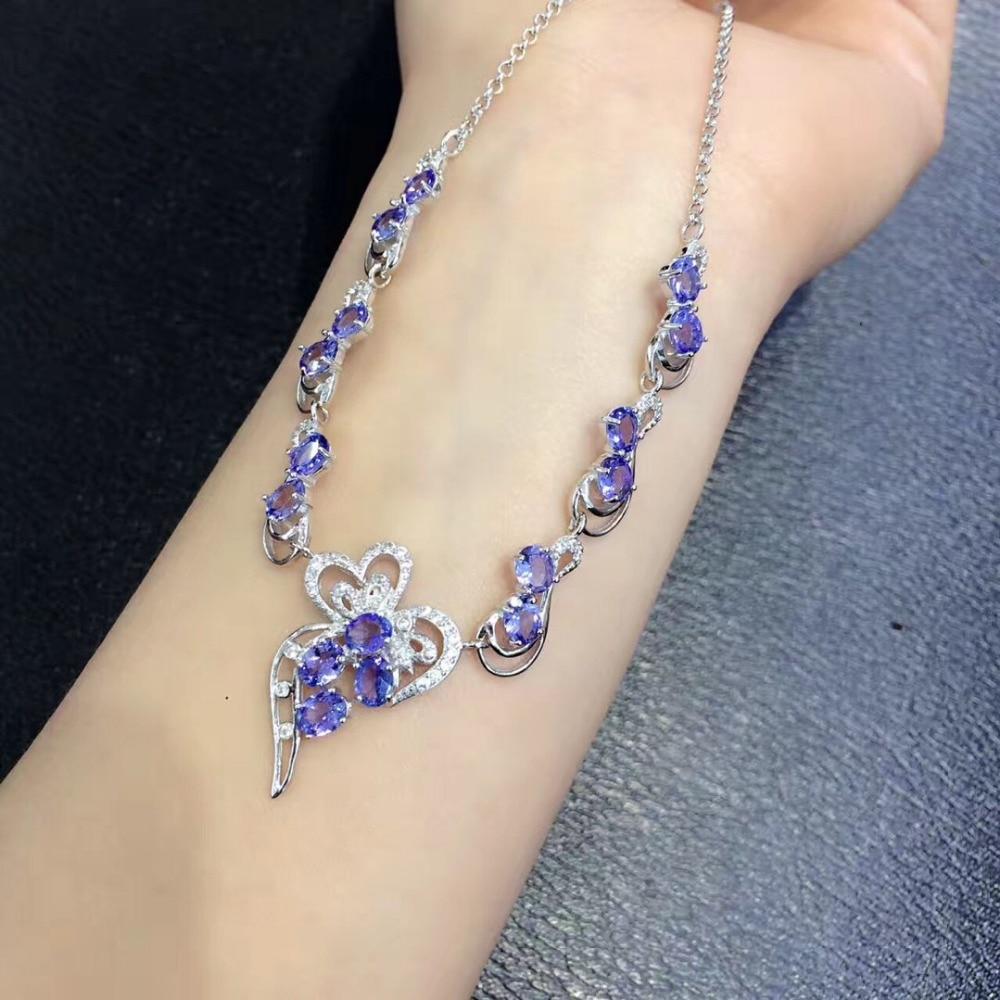 Qi Xuan_Fashion Jewelry_Three Différents styles De Pierre Necklaces_S925 Solide Argent Mode Necklaces_Factory Directement Vente
