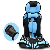 Portable Kids Safety Car Seat 9 Months 4 Years Old Children Chairs Thickening Baby Stroller Cushion