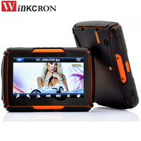 Car Motorcycle GPS Navigation 4.3 Touch screen IPX7 Waterproof with Bluetooth FM AVIN built in 8GB Free Map