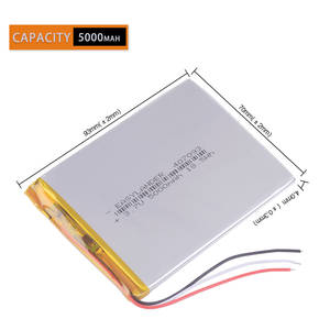 Tablet-Battery Prestigio with Protection-Board for Child Multipad-Color 2-3g Pmt3777 3g D