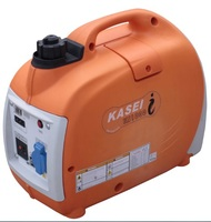 Compact 2000W Generator with Inverter, 4 cylinder gasoline engine powered 230V output. 4hours working, 22kg weight