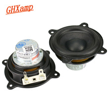 GHXAMP 2.5 INCH 15W עבור גלולת XL רמקול וופר מלא טווח ניאודימיום נייד רמקול רכב CD מגבר רמקול Buletooth חלוד