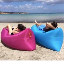 Надувной складной Спальный Ленивый мешок коврик водостойкий портативный воздушный диван карман Открытый пляж Кемпинг удлиненный Спальный Ленивый Кровать