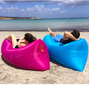 FoPcc Inflatable mat Portable Air Outdoor Beach Camping Bed