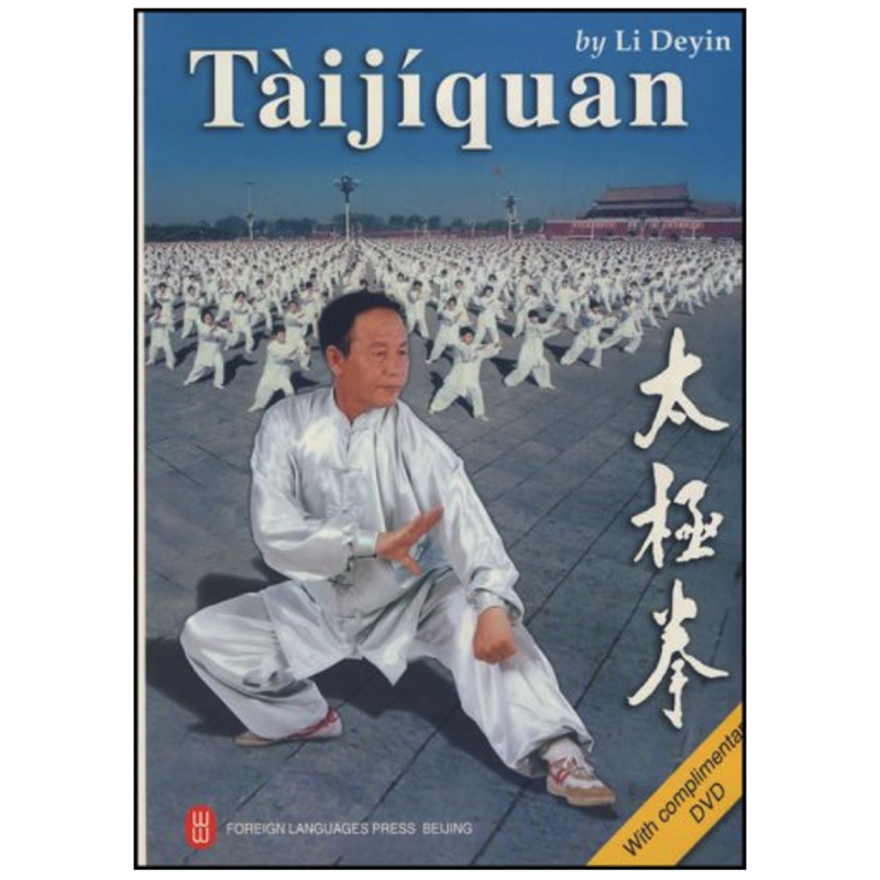 Tai Ji Quan ( With Complimentary DVD) By Li Deyin  English Edition Book For Foreigner Learning Taiji Paperback