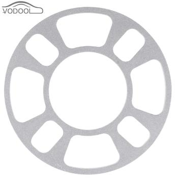 Universal Automobiles Aluminum Alloy Wheel Hub Spacer Gasket 4 Hole 8mm Wheels Tire Tyre Shim Plate Car Refti Accessories Parts image
