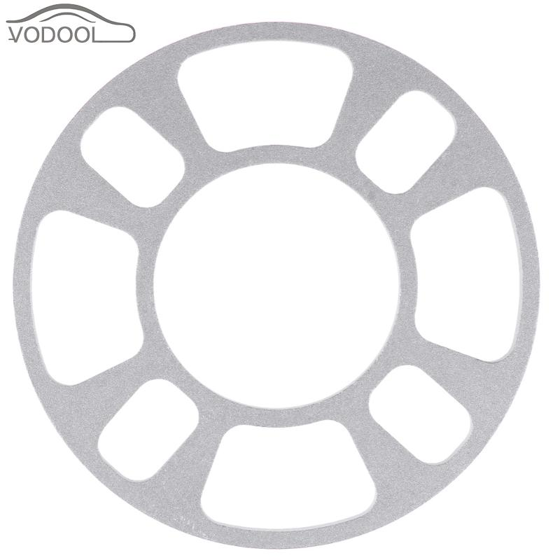 Universal Automobiles Aluminum Alloy Wheel Hub Spacer Gasket 4 Hole 8mm Wheels Tire Tyre Shim Plate Car Refti Accessories Parts