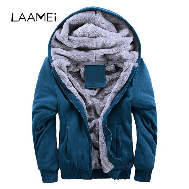 Laamei Men's Jacket Coat Streetwear Male Sportwear hoodies Jacket Jogger Men Overcoat Veste Homme Winter Hoody Windbreakers 2019