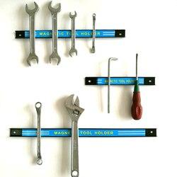 Профессиональный магнитный держатель для инструментов 23 см, 48 см, 61 см, можно фиксировать, инструмент для ремонта авто, подставка для хранен...