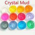New Clay Can Blow Bubbles Crystal Mud Plasticine Playdough For Children Magic slime Children's Crystal Soil Gifts slime